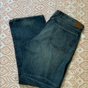 Three pairs of Gap jeans